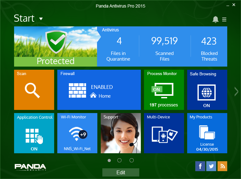 Essential protection but more than a simple antivirus! well known Screen Shot